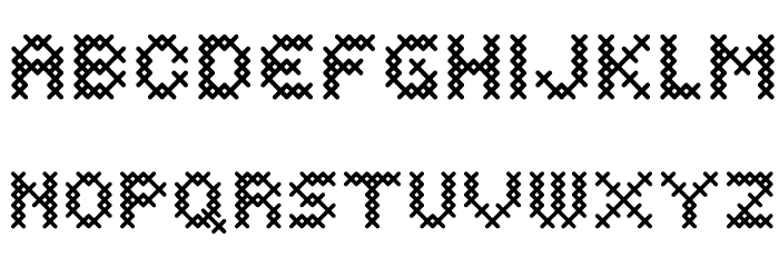 Costura Bold Font UPPERCASE