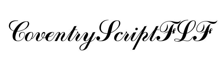 CoventryScriptFLF  Free Fonts Download