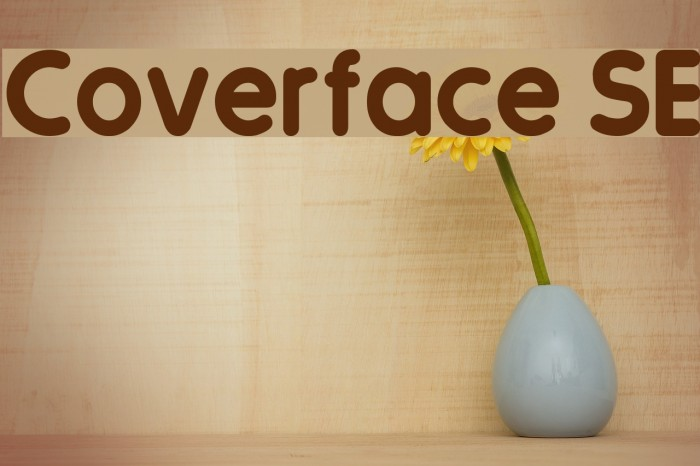 Coverface SE फ़ॉन्ट examples