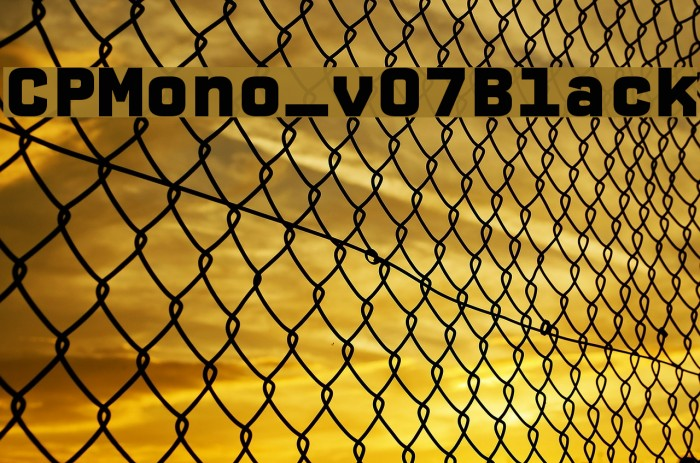 CPMono_v07Black Font examples