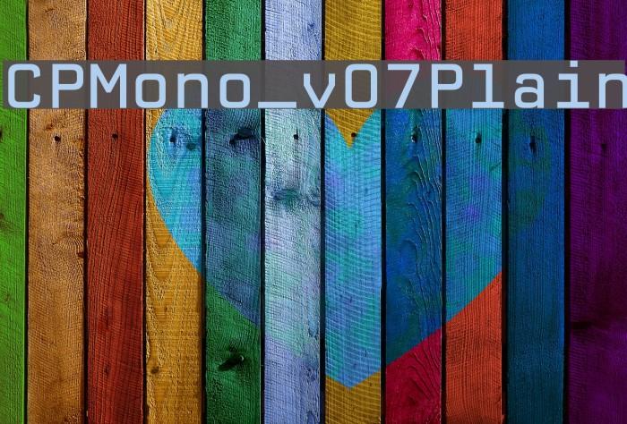 CPMono_v07Plain Polices examples