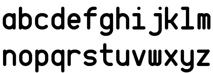 CQ Mono Font Litere mici