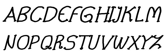 CRU-Pharit-Hand-Written v2 Bold Italic لخطوط تنزيل الأحرف الكبيرة