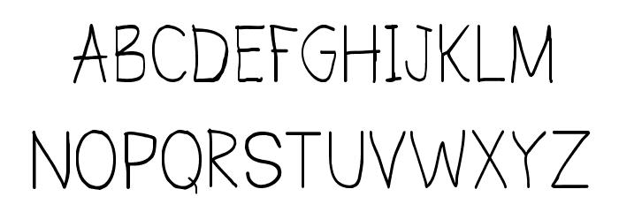 CRU-Todsaporn-Hand-Written Шрифта ВЕРХНИЙ