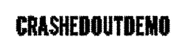 CrashedOutDemo  नि: शुल्क फ़ॉन्ट्स डाउनलोड