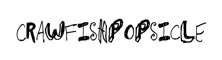 CrawfishPopsicle Font
