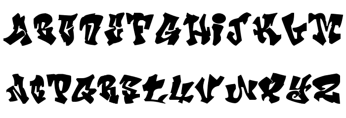 Crazy Calligraphy Font LOWERCASE