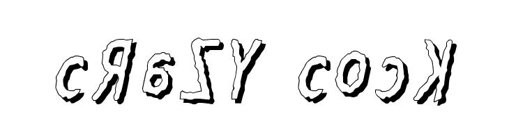 Crazy Cock  Free Fonts Download
