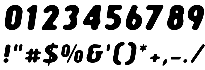Creamexbold Font OTHER CHARS