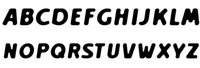 Creamexbold Font Litere mari