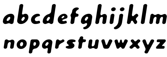 Creamexbold Font Litere mici