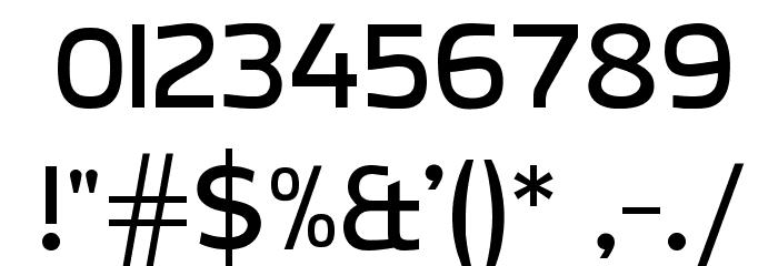 CreativZoo Serif Regular Font Alte caractere