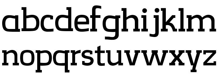 CreativZoo Serif Regular Font Litere mici