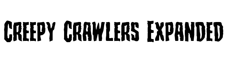 Creepy Crawlers Expanded  Free Fonts Download