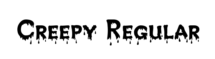 Creepy Regular  Free Fonts Download