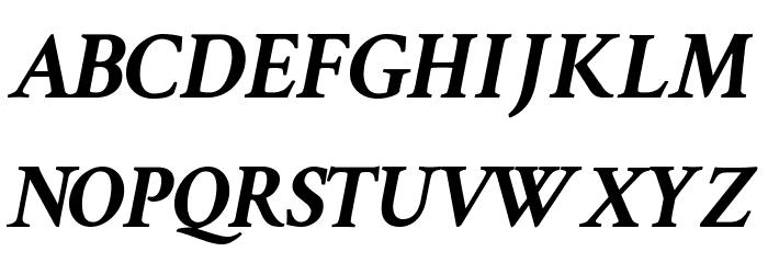 Crimson Text Bold Italic Font Litere mari