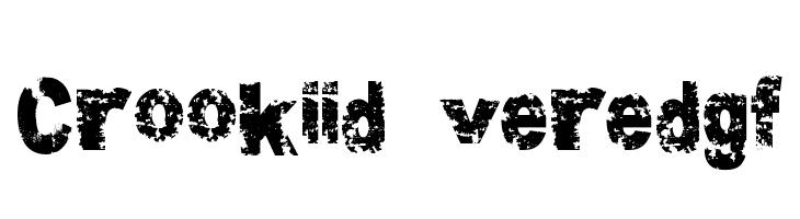 Crookiid veredgf  नि: शुल्क फ़ॉन्ट्स डाउनलोड