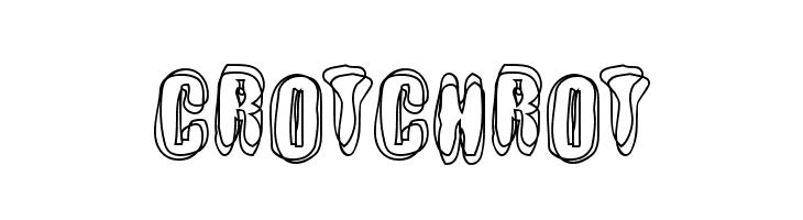Crotchrot  les polices de caractères gratuit télécharger