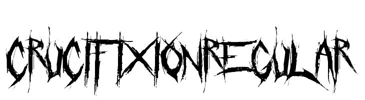 Crucifixion-Regular  Free Fonts Download