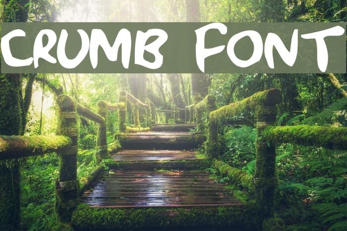 Crumb Font examples