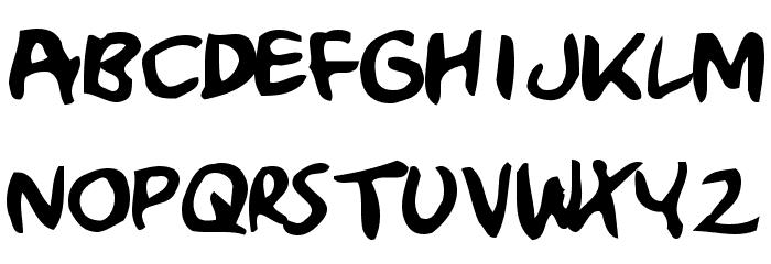 Crumb Font LOWERCASE