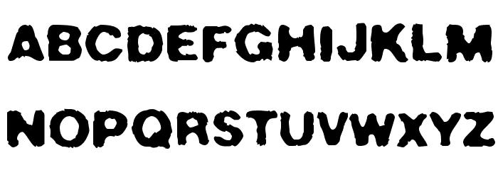 Crush49 फ़ॉन्ट अपरकेस