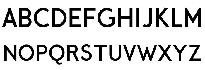 CrusoeText-Bold 字体 大写