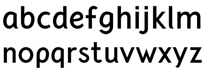 CrusoeText-Bold 字体 小写