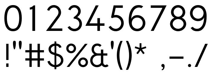 CrusoeText-Regular Шрифта ДРУГИЕ символов