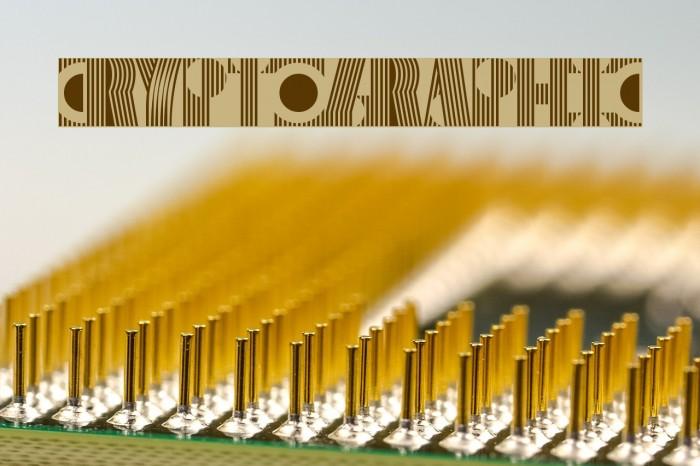 Cryptographic لخطوط تنزيل examples
