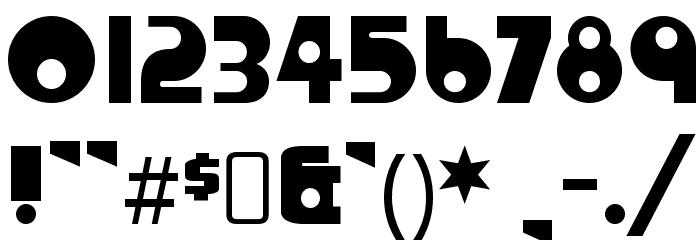 crystalradiokit-regular font