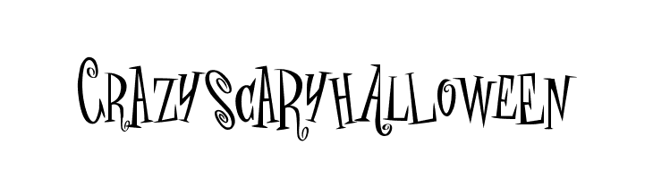 crAZYSCARYhalLowEeN  Free Fonts Download