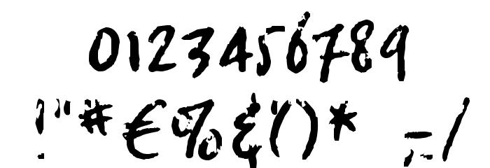 crosswordBill Font OTHER CHARS
