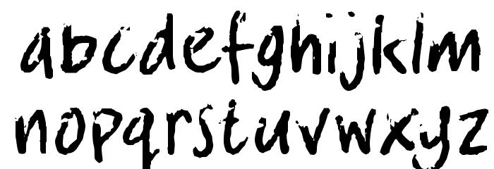crosswordBill Font LOWERCASE