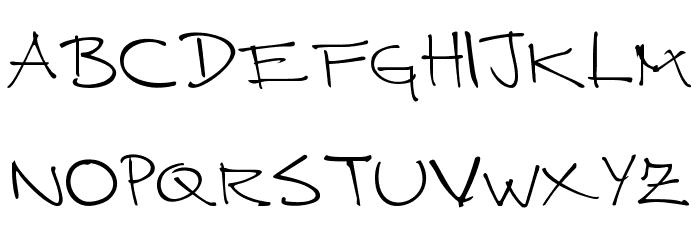 CUERNOMUERTO Шрифта строчной