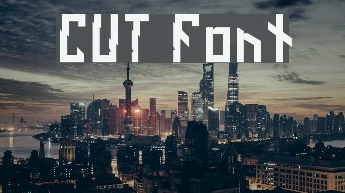 CUT Fonte examples