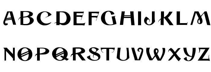 Cuban Font UPPERCASE