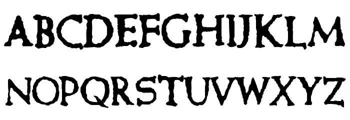 Cure- Picture Show Font LOWERCASE