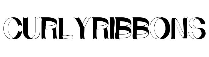 CurlyRibbons  नि: शुल्क फ़ॉन्ट्स डाउनलोड