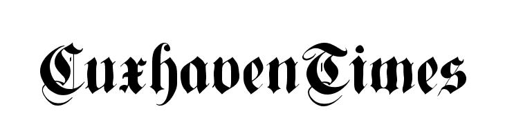 CuxhavenTimes  フリーフォントのダウンロード