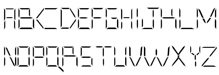 CYBORGBANE Font UPPERCASE