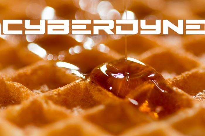 Cyberdyne Fonte examples