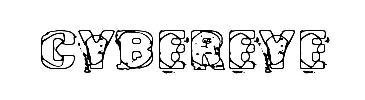 Cybereye  baixar fontes gratis