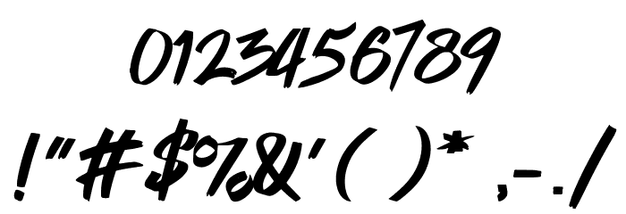 Cyberthrone Font OTHER CHARS