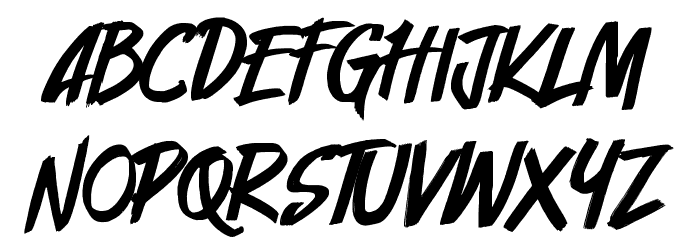 Cyberthrone Font UPPERCASE