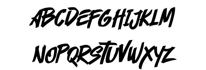 Cyberthrone Font LOWERCASE