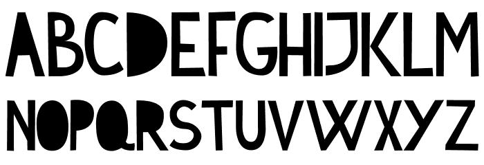 Cymo Bold Font UPPERCASE