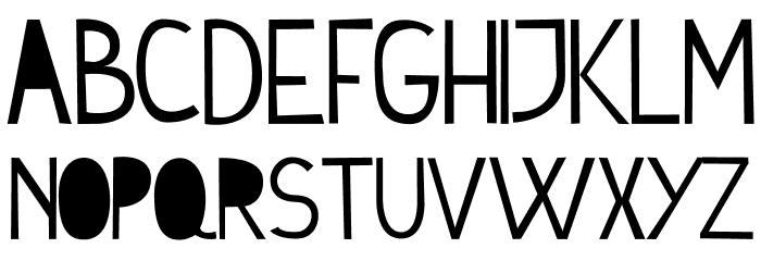 Cymo Font UPPERCASE