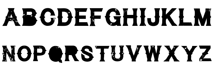 CynicalHills Font LOWERCASE