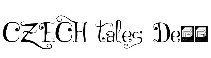 CZECH tales Demo  नि: शुल्क फ़ॉन्ट्स डाउनलोड